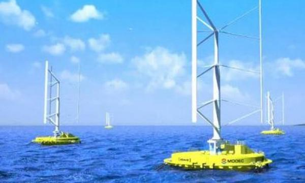 New Japanese Turbine Harnesses Both Wind And Wave Energy