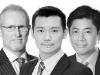 John Yeap, Nick Wang, James Harris